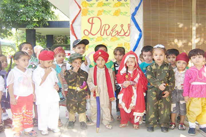 Indian Public School-Fancy Dress Event