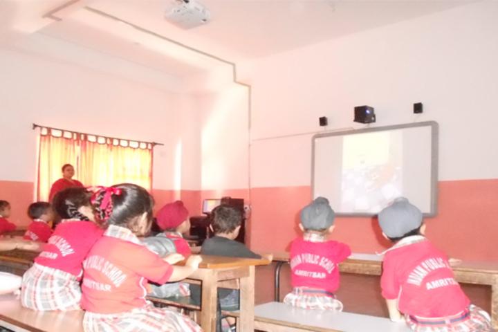 Indian Public School-Smart Classrooms