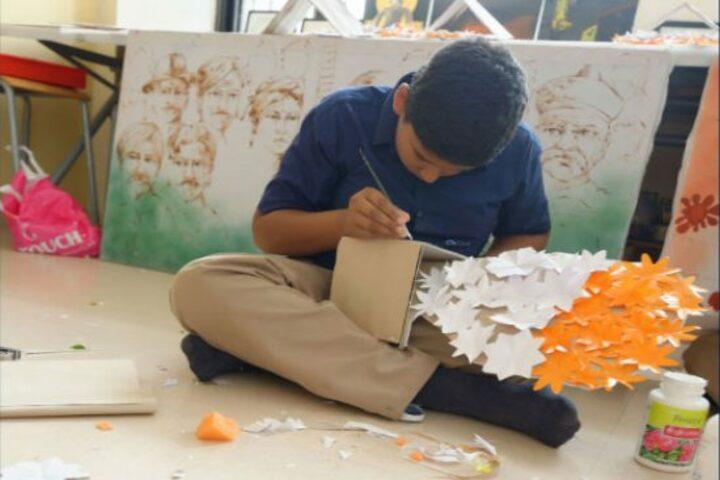Indus World School-Art and Craft
