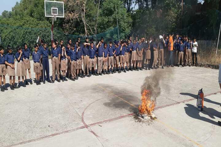 Indus World School-Safty Awareness