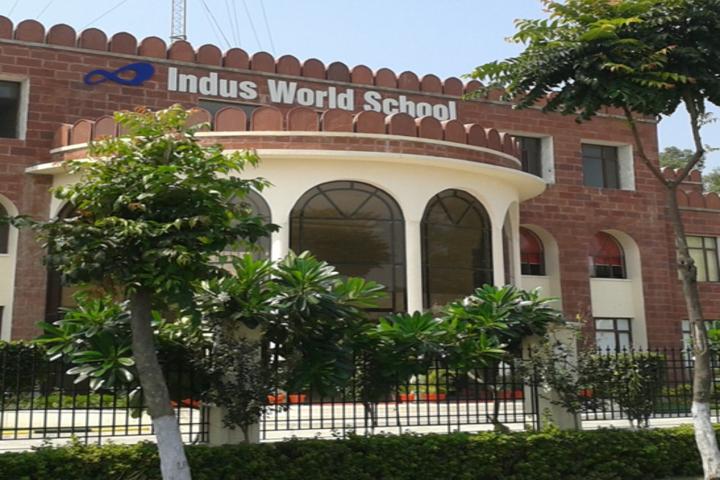 Indus World School-School View
