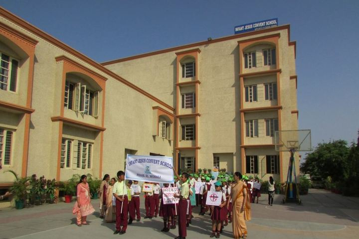Infant Jesus Convent School-Rally