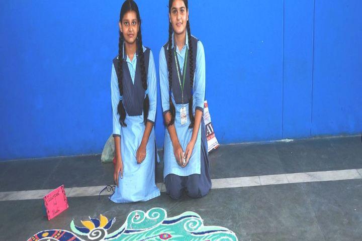 International Public School-Rangoli Event