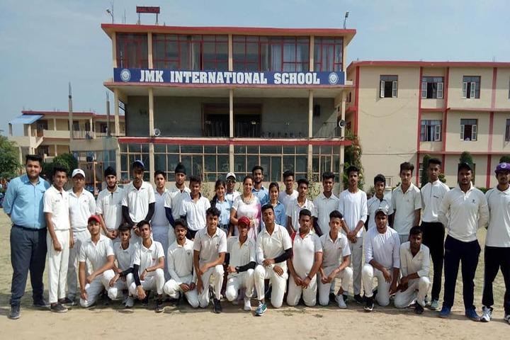 J M K International School-Cricket Team