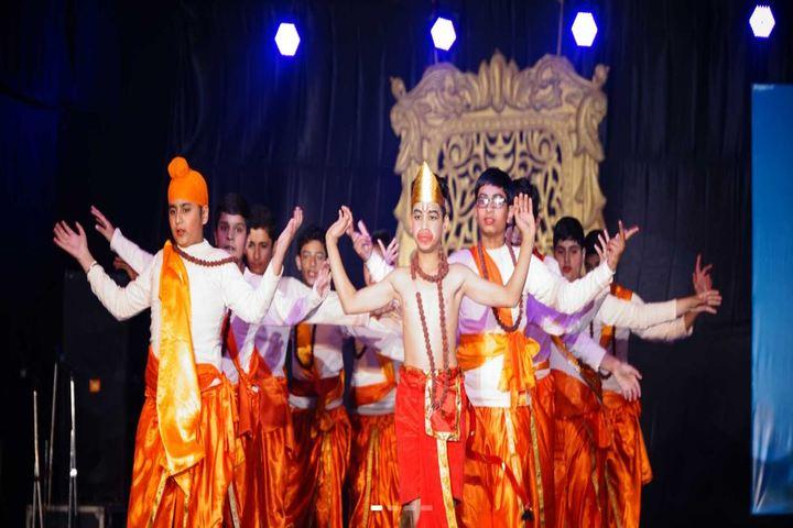 J M K International School-Dance