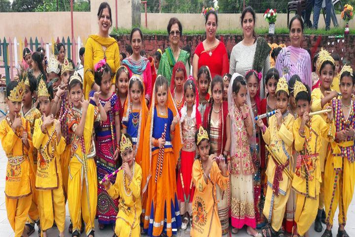 J M K International School-Janmastami Celebration