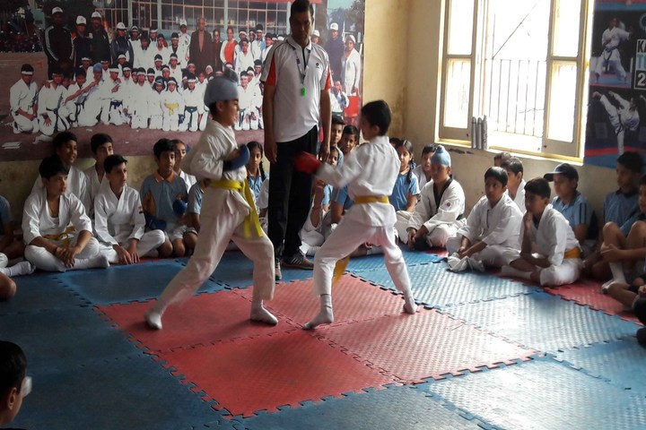 J M K International School-Karate Event
