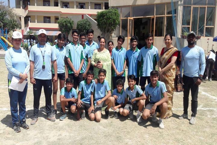 J M K International School-Sports