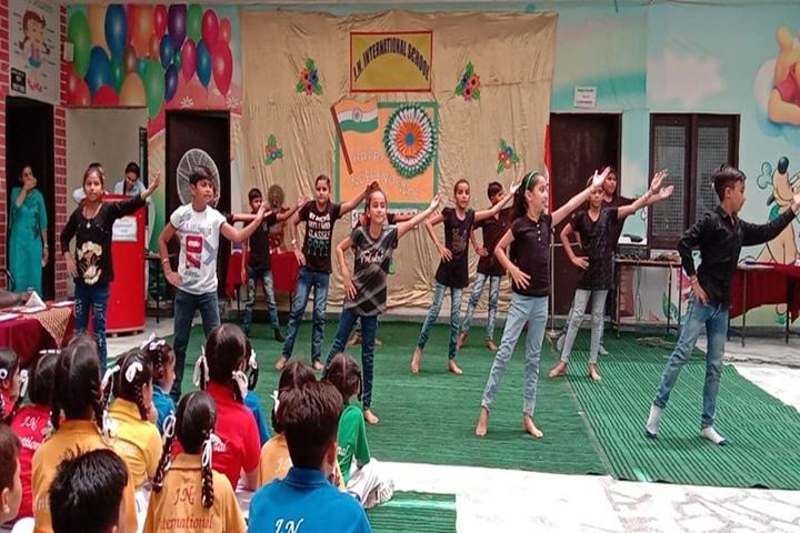 J N International School-Dance Activity