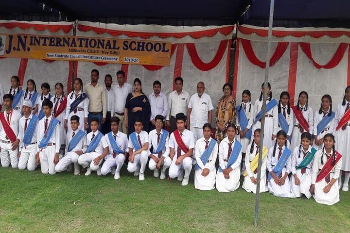 J N International School-Investiture Ceremony