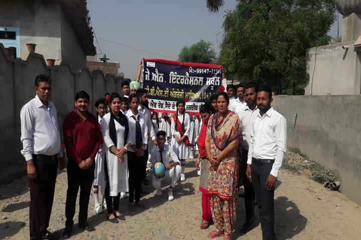 J N International School-Rally