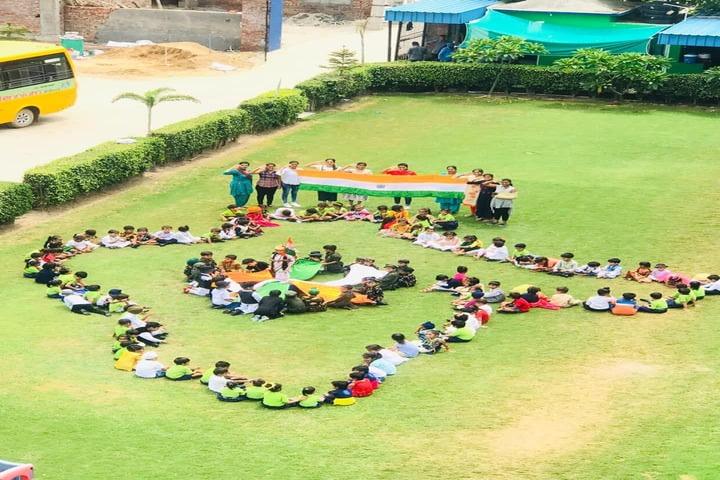 J R Millennium School-Independence Day
