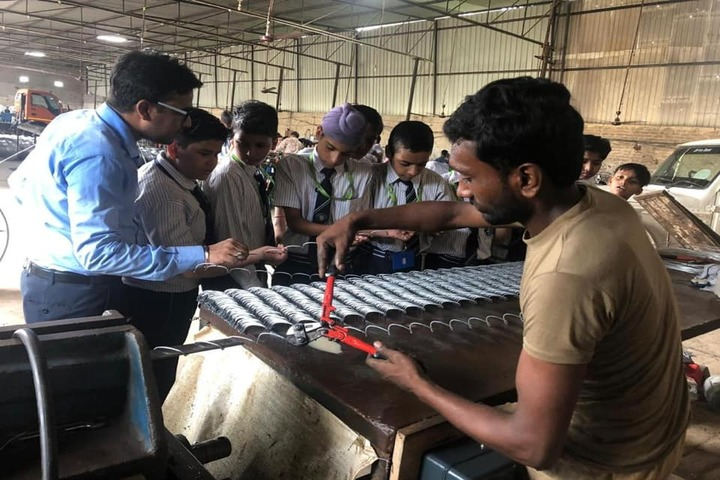 J R Millennium School-Industrial Visit
