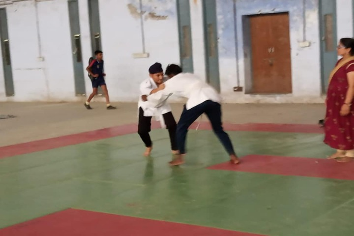 J R Millennium School-Sports