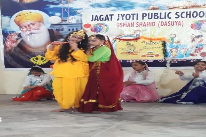 Jagat Jyoti Public School-Janmashtami Celebrations
