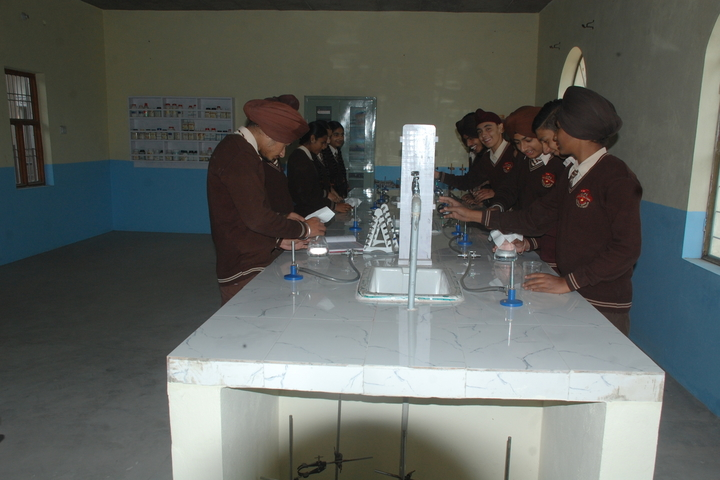 Jagat Jyoti Public School-Chemistry Lab