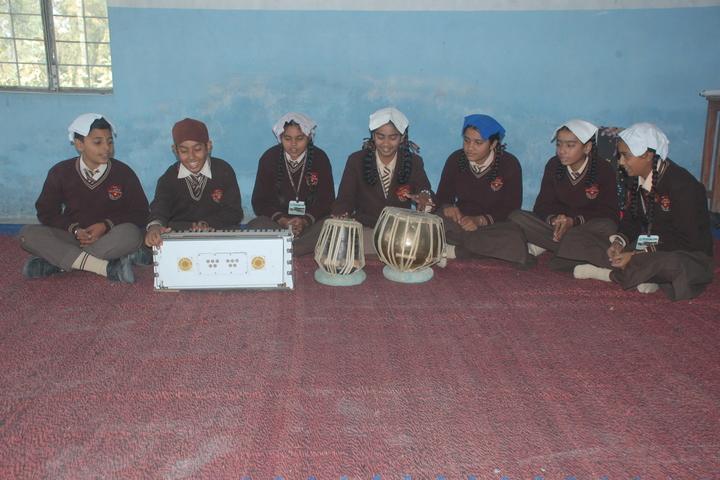 Jagat Jyoti Public School-Music Room