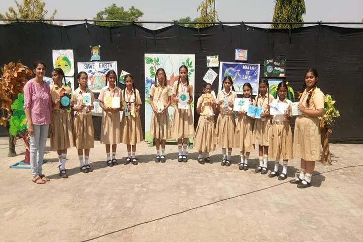 Jai Vatika Public School-Earth Day Event