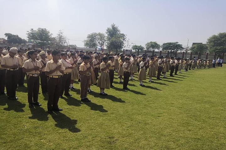Jai Vatika Public School-Morning Assembly