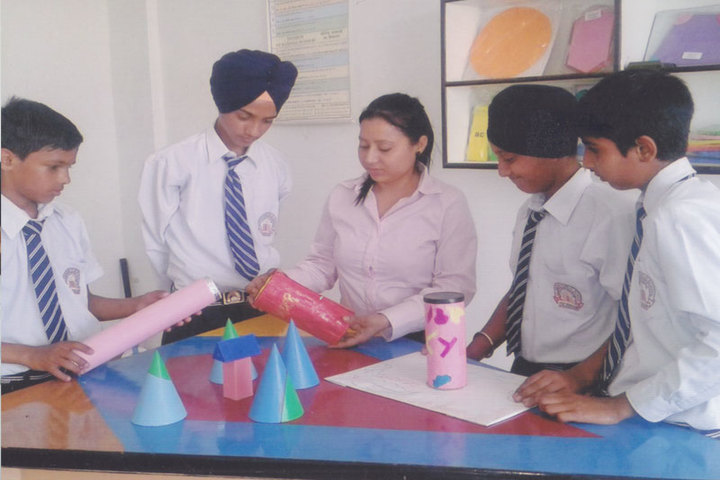 Jalandhar Public School-Math Lab