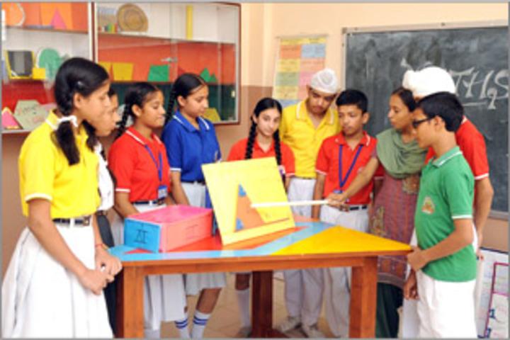 Jalandhar Public School-Math Lab