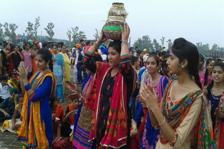 Jasdev Public School-Teej Celebration