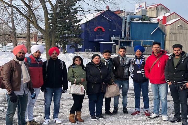 Jatindra Greenfield School-Canada Trip