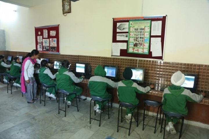 Jatindra Greenfield School-Computer Lab