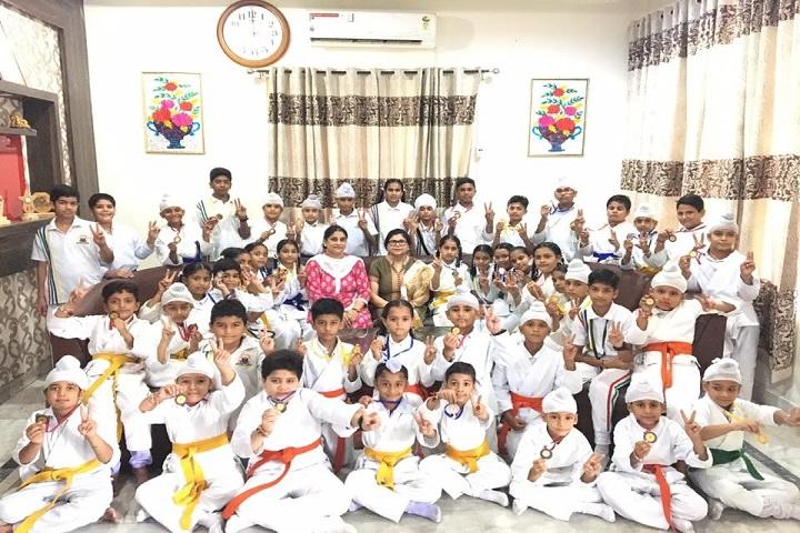 Jatindra Greenfield School-karate Championship