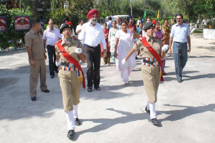Jawahar Navodaya Vidyalaya-Welcoming Guest
