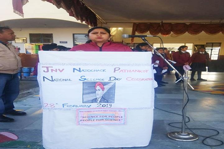 Jawahar Navodaya Vidyalaya-Natinol Science Day Celebrations