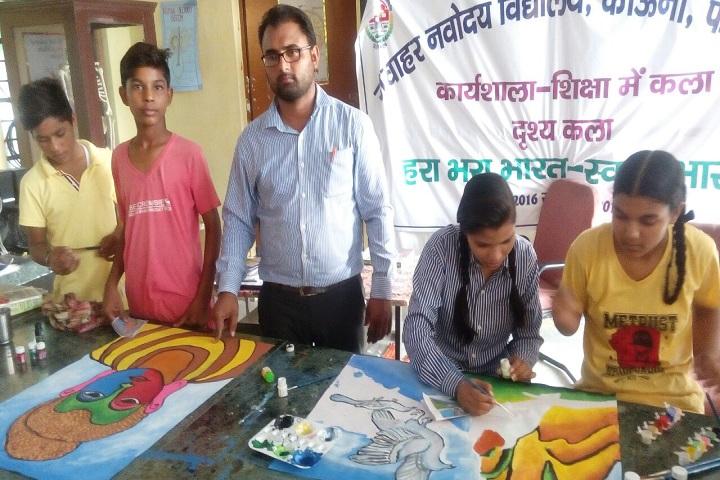 Jawahar Navodaya Vidyalaya-Art in Education