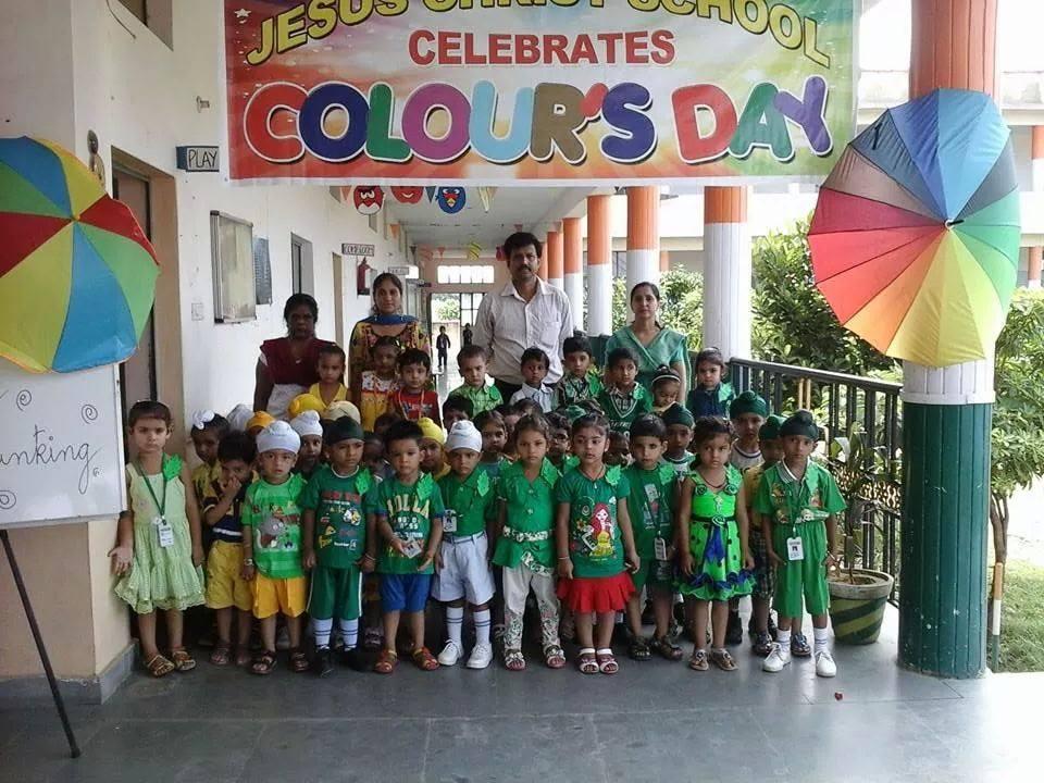 Jesus Saviours School-Colours Day Celebration