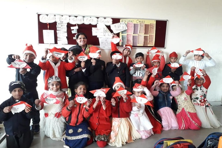 K D International School-Christams Celebrations