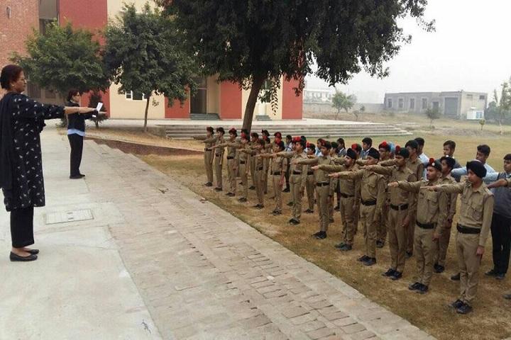 Kamla Nehru Public School-NCC