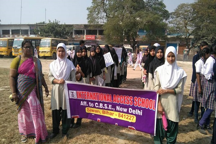 International Access School-Rally