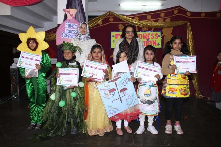 International School-Fancy Dress Competition