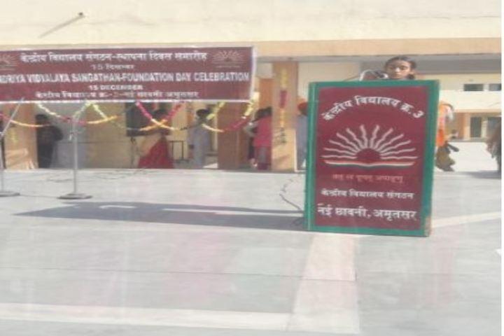 Kendriya Vidyalaya No 3-Foundation Day