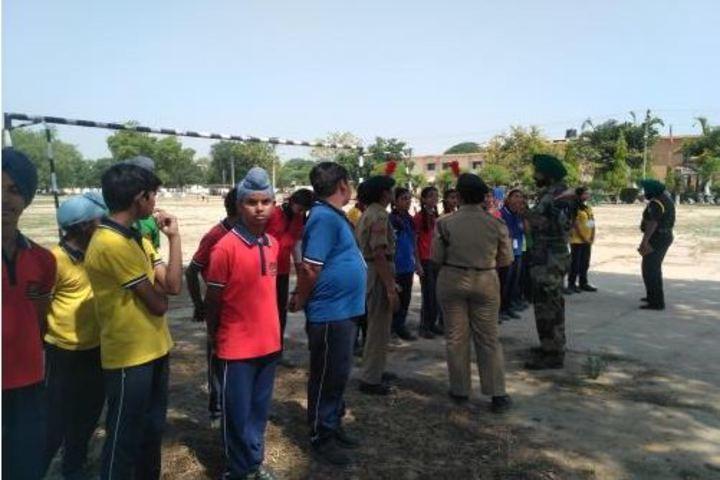 Kendriya Vidyalaya No 3-NCC Activity
