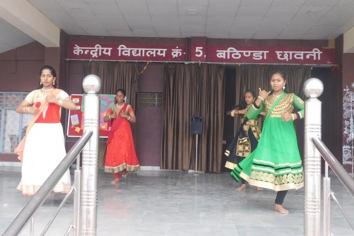 Kendriya Vidyalaya No 5-Dancing Activity