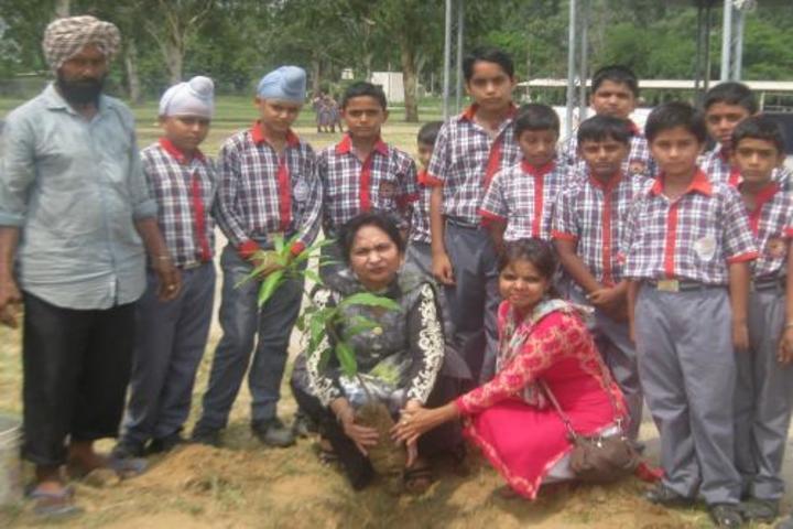 Kendriya Vidyalya No.2-Tree Plantation