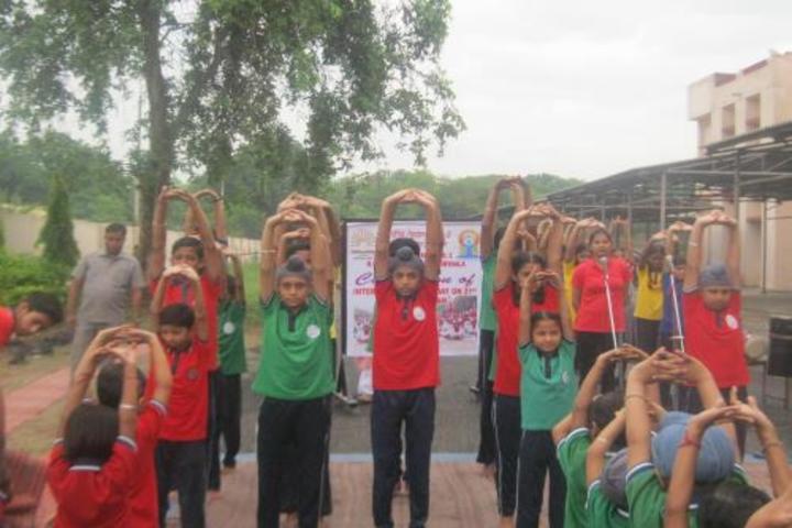 Kendriya Vidyalya No.2-Yoga Day