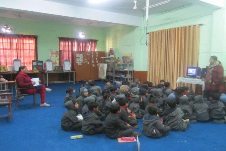 Kendriya Vidyalya-Classroom