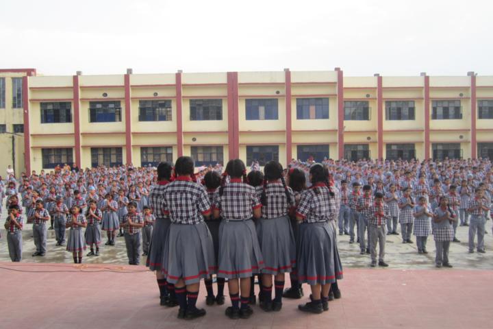 Kendriya Vidyalya-Morning Assembly