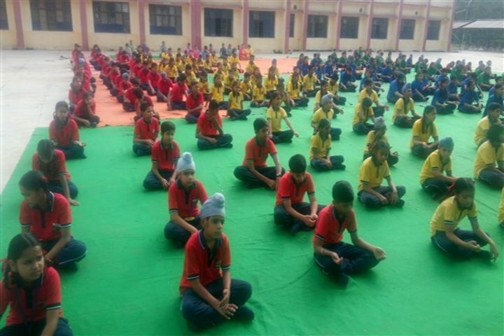 Kendriya Vidyalya-Yoga Day