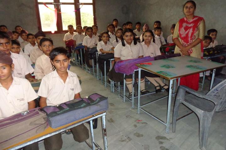 Keshav Public Senior Secondary School-Classroom