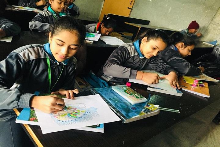 Kids Kingdom Convent School-Drawing
