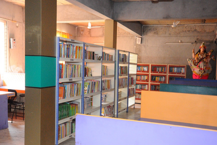 Kids Kingdom Convent School-Library