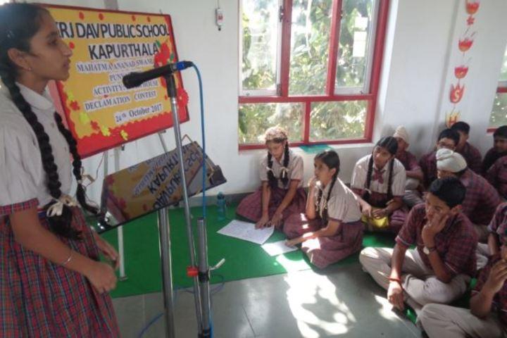 Kulwant Rai Dav Pub School-Singing