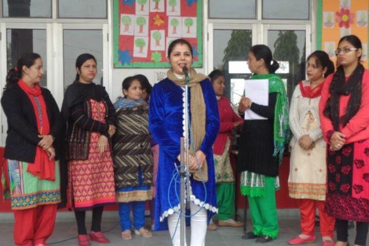 Kulwant Rai Dav Pub School-Speaker
